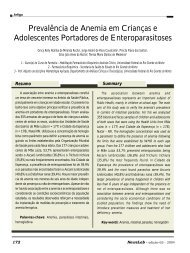 Prevalência de Anemia em Crianças e Adolescentes ... - NewsLab