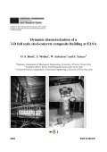 Dynamic characterization of a 3-D full scale steel-concrete ... - Page 5