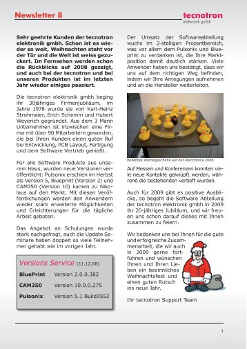 4 pulsonix tutorial newsletter 8 tecnotron malvernweather Choice Image