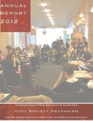 CSM Annual Report 2012