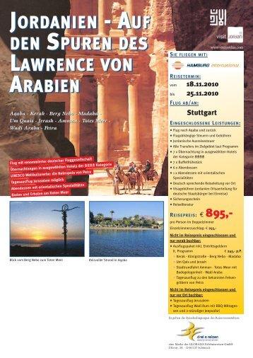 JORDANIEN - AUF DEN SPUREN DES LAWRENCE VON ...
