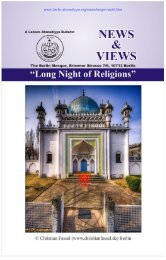 Read here Report of Lange Nacht der Religionen - Berlin Mosque ...