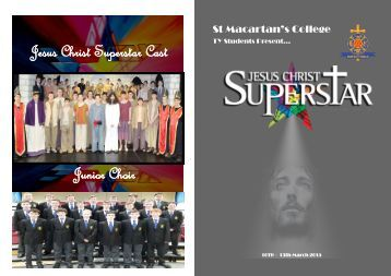 Jesus Christ Superstar Programme