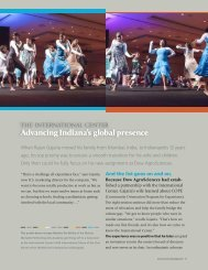 Advancing Indiana's global presence - Lilly Endowment