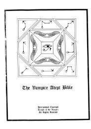 5 The Vampire Adept Bible.pdf - End Time Deception
