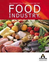 Food Industry Brochure #360 - Armstrong International, Inc.