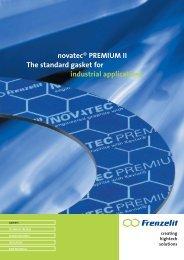 novatec PREMIUM II - Frenzelit Sealing Systems, Inc.