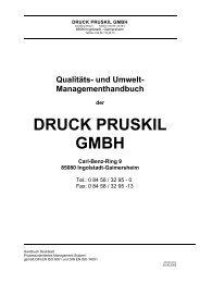 QM-/UM-Handbuch - druck pruskil