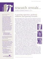 Issue 5, Volume 1 - Jun / Jul 2002 - Alberta Gambling Research ...