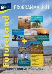 Programma Futureland 2011 - Port of Rotterdam