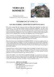 Vers les sommets de novembre 2012 - Chercher ... - La Porte Latine