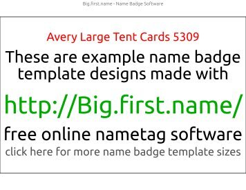 template similar to avery 5141 5140 5143 name badges