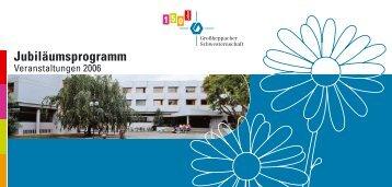 Jubiläumsprogramm - Großheppacher Schwesternschaft