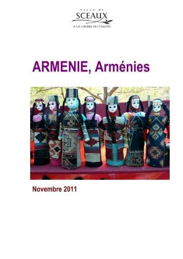 ARMENIE, Arménies - Bibliothèque municiaple de Sceaux