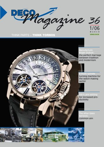 Magazine - Tornos