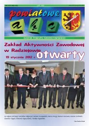 Powiatowe ABC - luty 2012