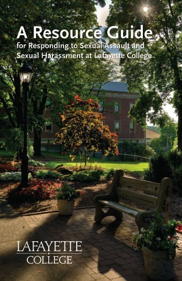 A Resource Guide - Division of Campus Life - Lafayette College