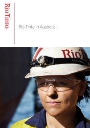 Rio Tinto in Australia - PageSuite