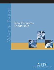 New Economy Leadership - BTS