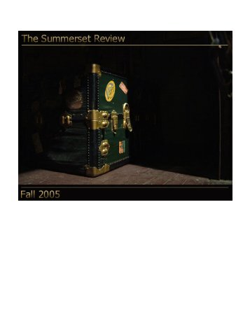 Download in PDF format - The Summerset Review