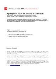 Aplicação do REVIT em estudos de viabilidade. - Autodesk ...