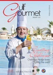 Courting Challenges - The Emirates Culinary Guild