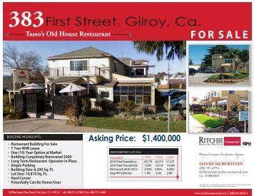 383 First Street Gil..