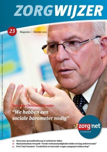 Zorgwijzer 23 - Zorgnet Vlaanderen