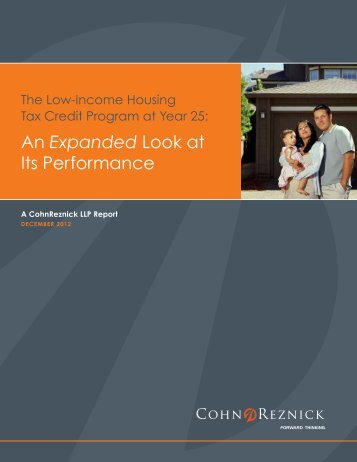 An Expanded Look at Its Performance - CohnReznick