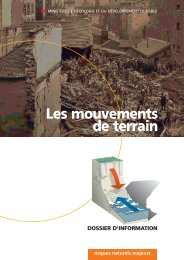 Le risque «mouvements de terrain - UNIT