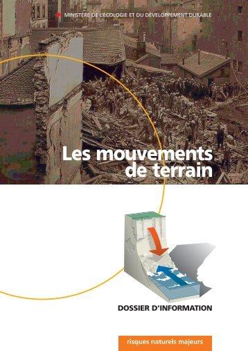 Le risque «mouvements de terrain - UNIT