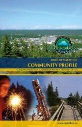 COMMUNITY PROFILE - Marathon Ontario