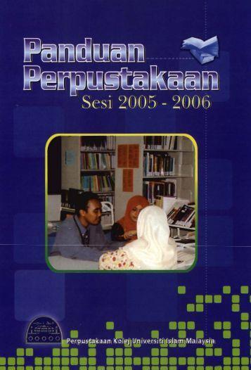 Panduan Perpustakaan Sesi 2005-2006.pdf - USIM