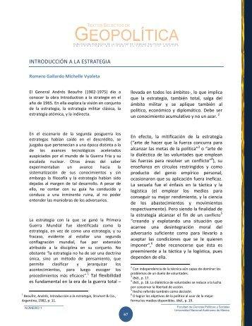 introducción a la estrategia - Centro de Investigación e Información ...