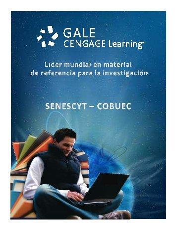 Presentación Gale Cengage Learning SENESCYT - UCSG