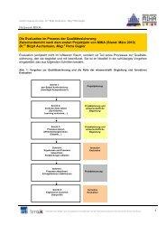 Die Evaluation im Prozess der Qualitätssicherung ... - Netzwerk MIKA