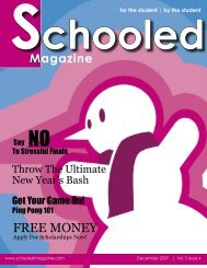 FREE MONEY - Schooled Magazine