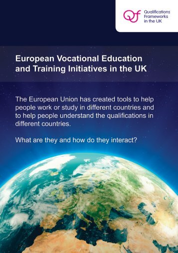 European VET Initiatives in the UK - Scottish Credit and ...