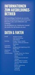 Flyer Lehrlingscasting - Stadtwerke Kapfenberg GmbH