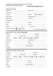 Inschrijfformulier VMBO 2013-2014 - Wellantcollege