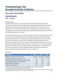 Fisiopatología del Envejecimiento Cutáneo - Antonio Rondón Lugo