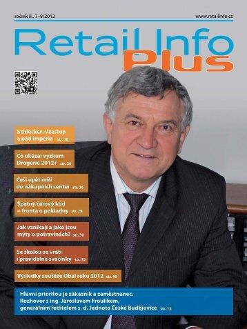 Retail info 7-8/2012 - Jednota