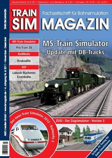 MS-Train Simulator - Train Sim Magazin