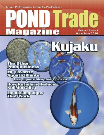 Download the May / June, 2010 PDF - Pond Trade Magazine