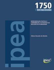 Representação Política e Conferências - Ipea