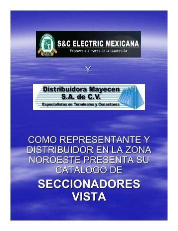 SECCIONADORES VISTA - Distribuidora Mayecen