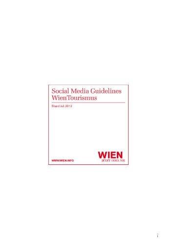 Social Media Guidelines - Vienna
