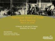 1 - Vancouver Board of Trade