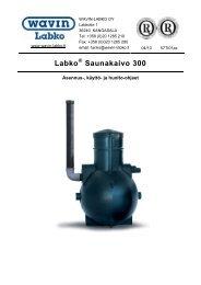Ohje Labko Saunakaivo 300 - Taloon.com