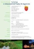 11. Schwarzwald Golf-Trophy - Golfland Baden-Württemberg - Seite 2